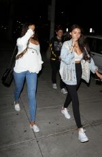MADISON BEER Leaves a Sushi Bar in Los Angeles 04/18/2017