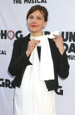 MAGGIE GYLLENHAAL at Groundhog Day Broadway Opening Night in New York 04/17/2017