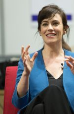 MAGGIE SIFF at New York Moves Power Women Forum in New York 04/06/2017