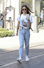 MAIA MITCHELL Shopping at The Grove in West Hollywood 04/05/2017