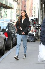 MALIA OBAMA Out and About in New York 04/10/2017