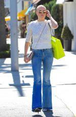 MALIN AKERMAN in Jeans Out in Beverly Hills 03/31/2017