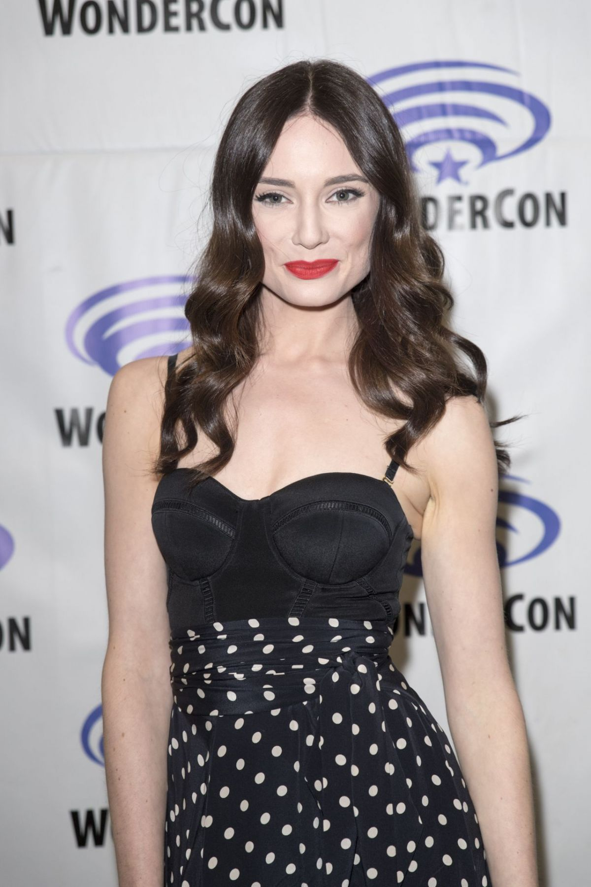 MALLORY JANSEN at Agents of S.H.I.E.L.D. Press Room at WonderCom in Anaheim 04/01/2017
