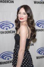 MALLORY JANSEN at Agents of S.H.I.E.L.D. Press Room at WonderCom in Anaheim 04/01/2017