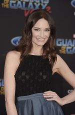 MALLORY JANSEN at Guardians of the Galaxy Vol. 2 Premiere in Hollywood 04/19/2017