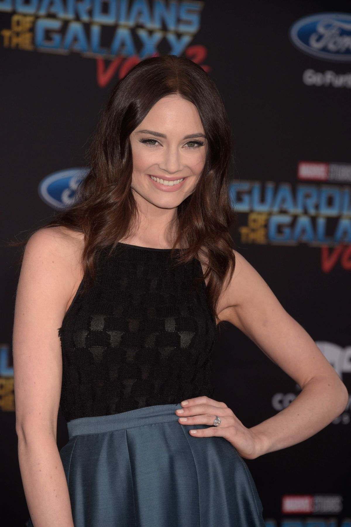 MALLORY JANSEN at Guardians of the Galaxy Vol. 2 Premiere
