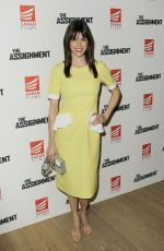 MARGARET ANNE FLORENCE at The Assignment Screening in New York 04/03/2017
