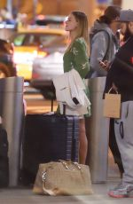 MARGOT ROBBIE and Tom Ackerley at  JFK Airport in New York 04/23/2017