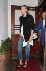 MARIA SHARAPOVA Leaves Madeo Restaurant in West Hollywood 04/02/2017
