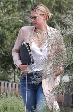MARIA SHARAPOVA Out in Los Angeles 04/18/2017