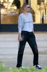 MARIA SHARAPOVA Shopping at Barneys New York in Beverly Hills 04/03/2017