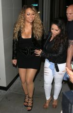 MARIAH CAREY at Catch LA Restaurant in West Hollywood 04/18/2017