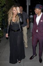 MARIAH CAREY Night Out in Los Angeles 04/20/2017