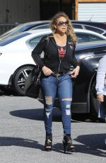 MARIAH CAREY Out and About in Beverly Hills 04/27/2017