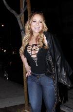 MARIAHA CAREY at Au Fudge in West Hollywood 04/22/2017