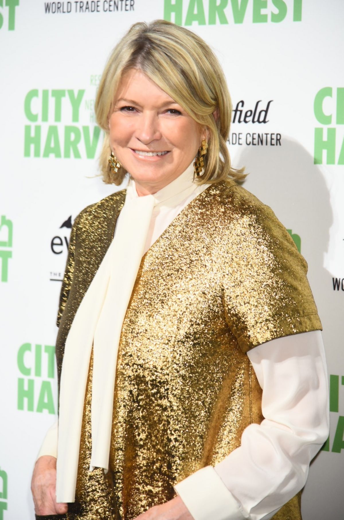 MARTHA STEWART at City Harvest