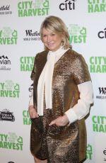 MARTHA STEWART at City Harvest