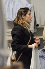 MARTINA STOESSEL Out Shopping in Rome 03/30/2017