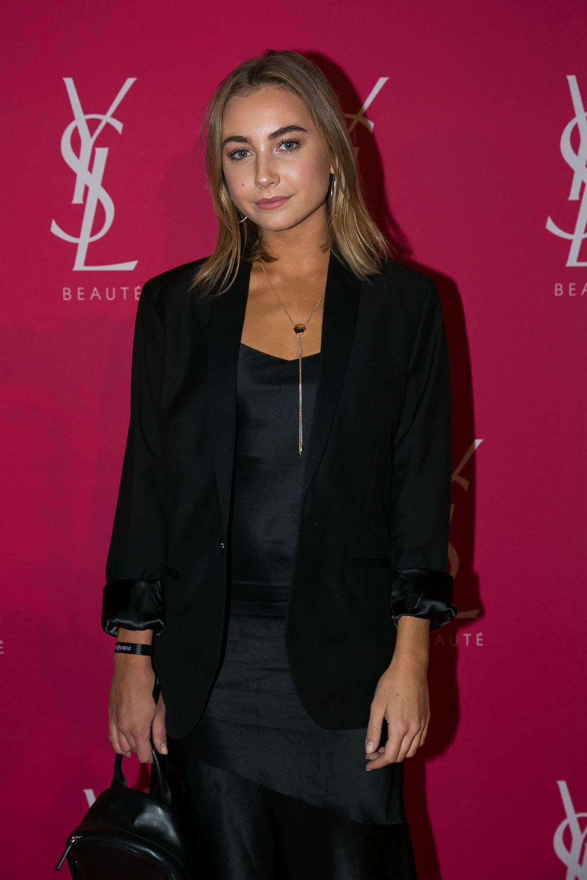 MAVOURNEE HAZEL at YSL Beauty Club Party in Melbourne 04/27/2017