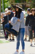 MEGAN FOX at Easter Egg Hunt at Underwood Family Farms in Moorpark 04/11/2017