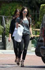 MEGAN FOX in Ripped Jeans Out Shopping in Malibu 04/07/2017