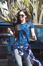 MEGAN FOX Out and About n Los Angeles 04/02/2017