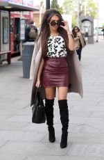 MEGAN MCKENNA Out and About in Ilford 04/15/2017