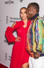 MEGAN WOLLOVER and Tracy Morgan at The Clapper Screening at 2017 Tribeca Film Festival in New York 04/23/2017