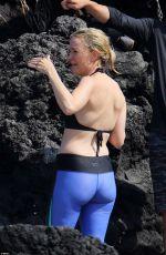 MEGYN KELLY in Bikini Top on Vacation in Hawaii 03/29/2017