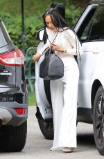 MELANIE BROWN Out and About in Beverly Hills 04/06/2017
