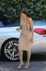 MELANIE BROWN Out and About in Los Angeles 04/05/2017