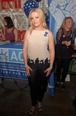 MELISSA JOAN HART at Shelter for All Campaign Event in Los Angeles 04/20/2017