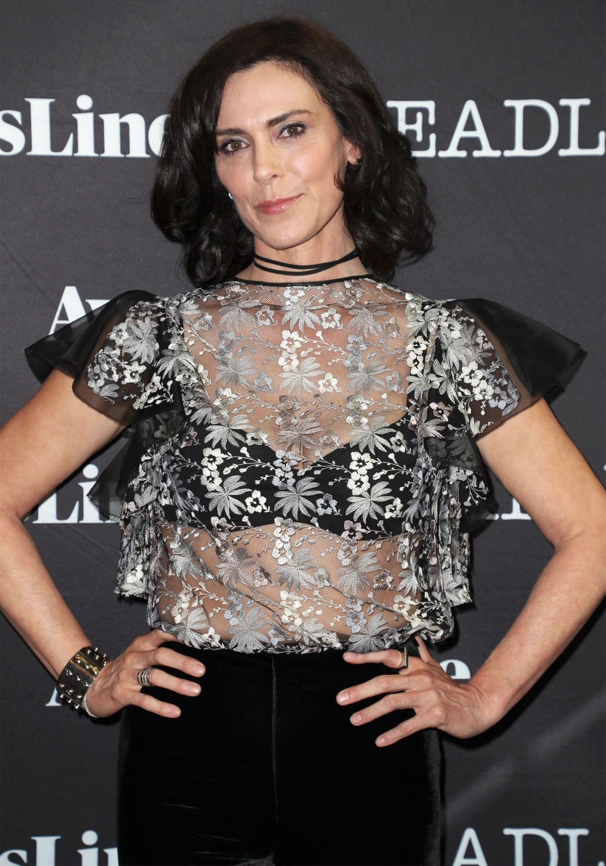 MICHELLE FORBES at Contenders Emmys Presented by Deadline in Los Angeles 04/09/2017