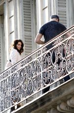 MICHELLE KEEGAN on the Set of a Photoshoot in Paris 04/04/2017