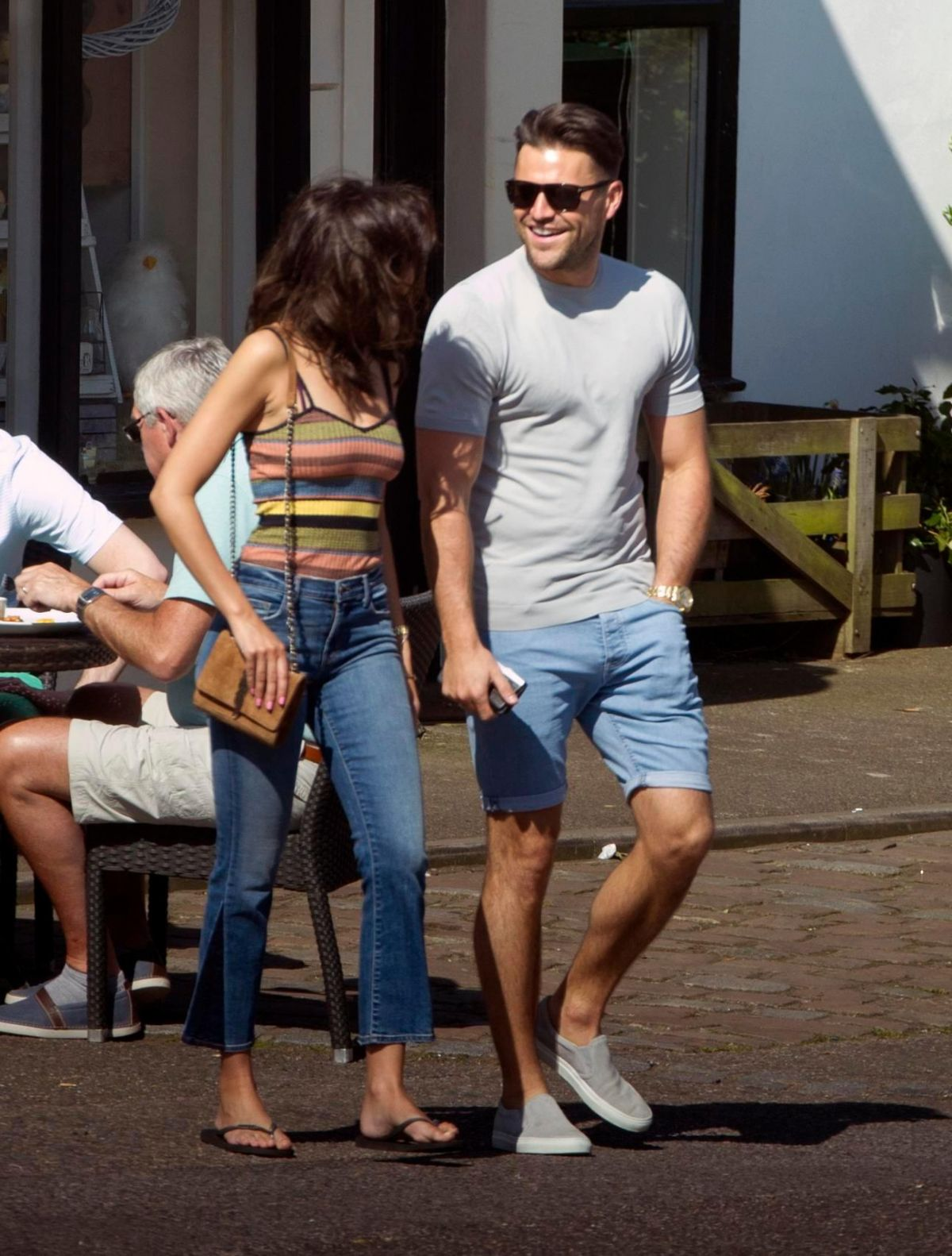 MICHELLE KEEGAN Out and About in Abridge 04/09/2017