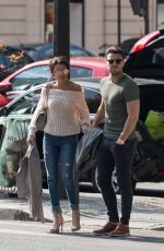 MICHELLE KEEGAN Out and About in Paris 04/03/2017