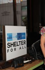 MICHELLE PESCE at Shelter for All Campaign Event in Los Angeles 04/20/2017