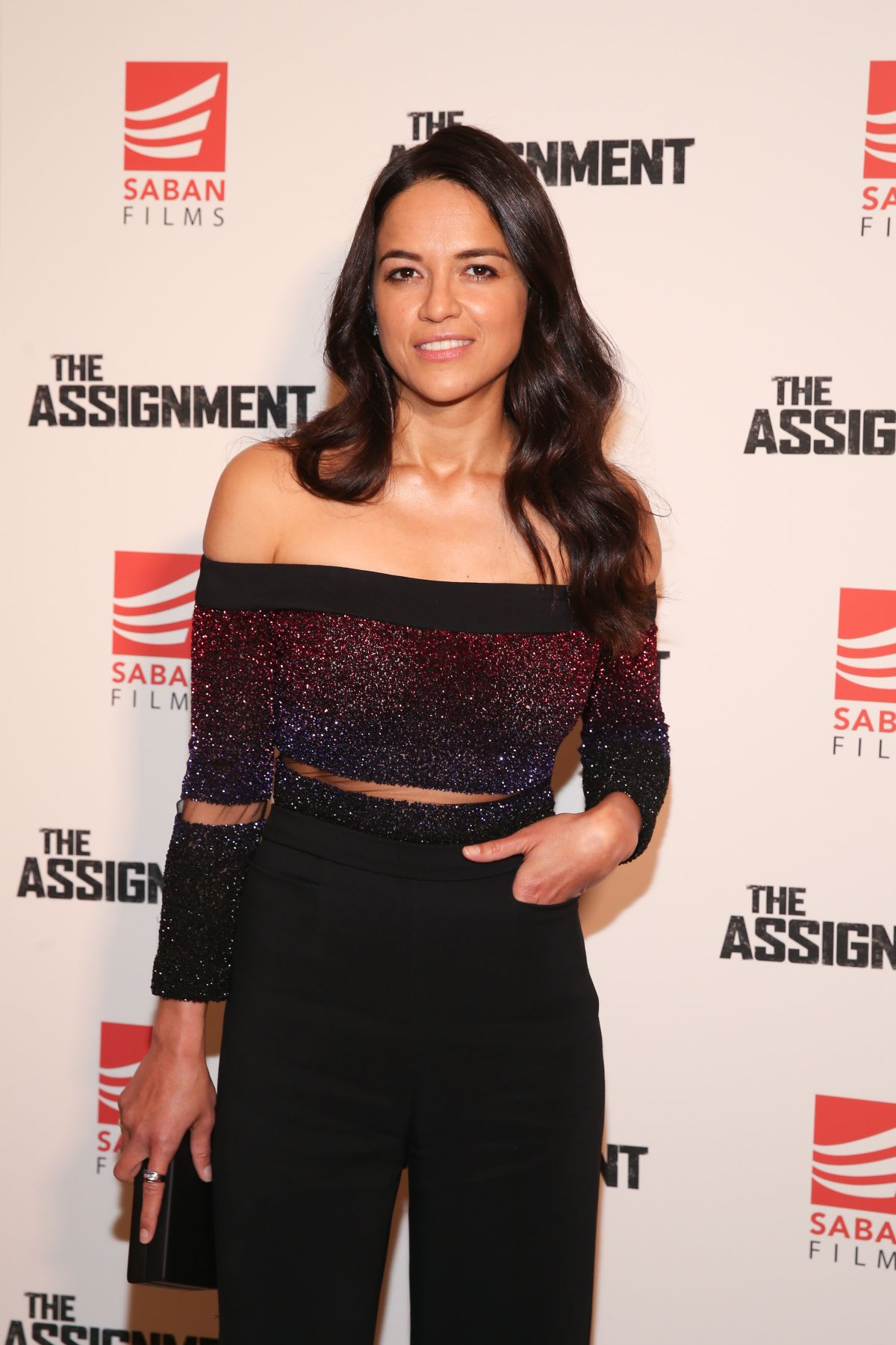 MICHELLE RODRIGUEZ at The Assignment Screening in New York 04/03/2017