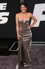 MICHELLE RODRIGUEZ at The Fate of the Furious Premiere in New York 04/08/2017