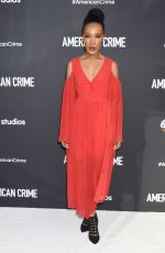MICKAELLE X. BIZET at American Crime Screening in Los Angeles 04/29/2017