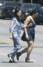 MILA KUNIS Heading to a Baby Shower in West Hollywood 04/02/2017