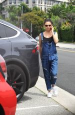 MILA KUNIS Out and About in Beverly Hills 04/27/2017