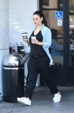 MILA KUNIS Out and About in Los Angeles 04/29/2017
