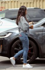 MILA KUNIS Out for Lunch in Studio City 04/11/2017
