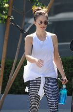 MINKA KELLY Working Out at a Gym in West Hollywood 04/05/2017