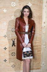 MIRANDA KERR at Louis Vuitton Dinner Party in Paris 04/11/2017