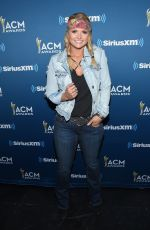 MIRANDA LAMBERT at Highway Channel Broadcasts Backstage at T-Mobile Arena in Las Vegas 03/31/2017