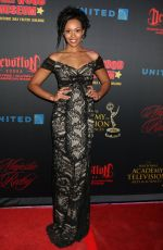 MISHAEL MORGAN at Daytime Emmy Awards Nominee Reception in Los Angeles 04/26/2017