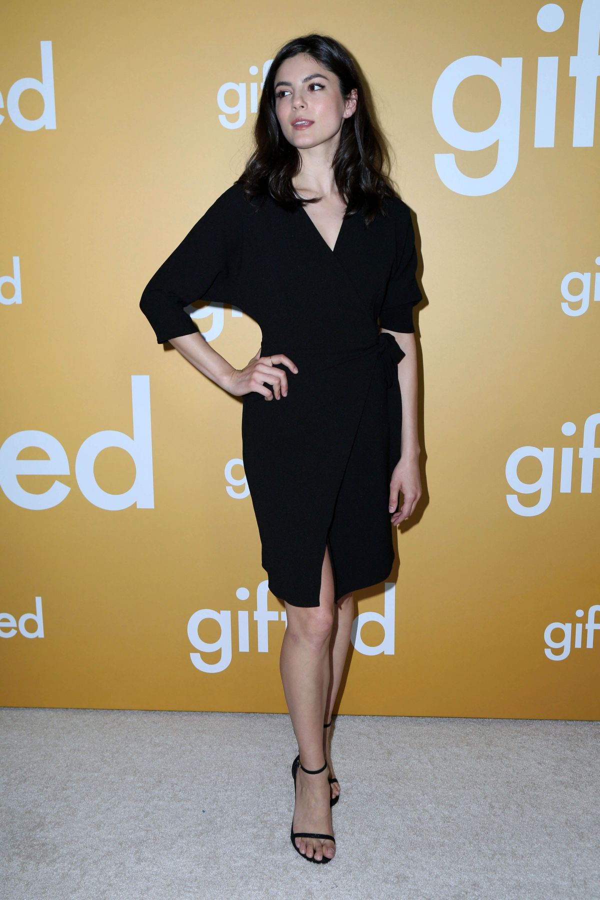 MONICA BARBARO at Gifted Premiere in Los Angeles 04/04/2017