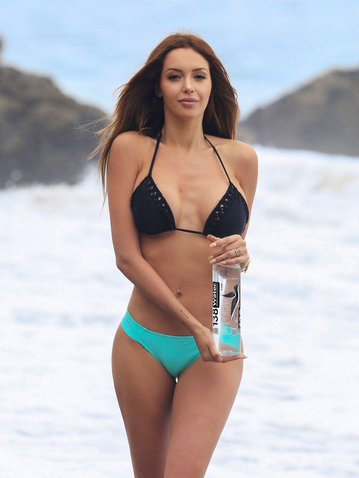 NABILLA BENATTIA in Bikini for 138 Water Photoshoot at Miami Beach 04/27/2017